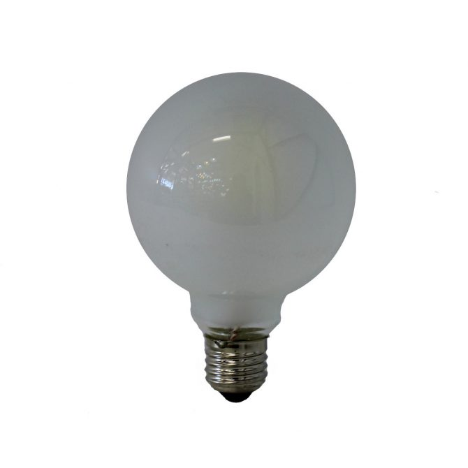 G125 E27 6W LED Globe Frosted - LEDG1256WE27FR - PW - CW - WW