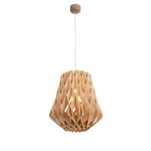 Hive 360 Wooden Pendant Light - P1020HIVE360