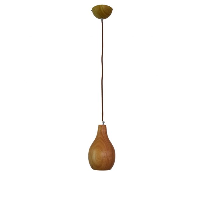 Woody 3 - 130 Wooden Pendant Light - P1123WOODY3