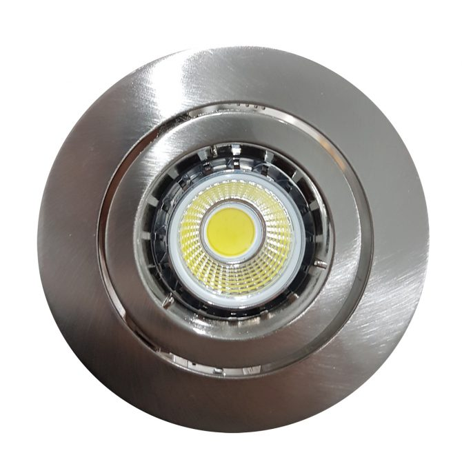 6w COB GU10 LED Downlight Kit 90mm bch