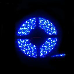LED IP65 Strip Light 5m Blue 3528 - LEDIP65BLUE3528