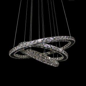 GALAXY 650 Cool White LED Crystal Pendant - LEDP1001CW