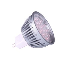 5w MR16 LED Globe - LED5WMR16 - PW - WW