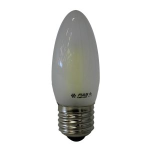 Candle E27 4W LED Globe Frosted - LEDCAN4WE27FR - PW - CW - WW
