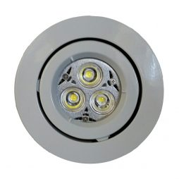 GU10 LED Downlight Kit 90mm white