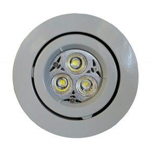 GU10 LED Downlight Kit 90mm white
