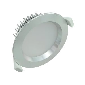 13 watt Dimmable LED Downlight Kit Anodized Aluminium- Cool White