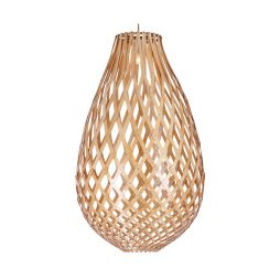 Ovaloid 400 Wooden Pendant Light - P1110OVA40WDN