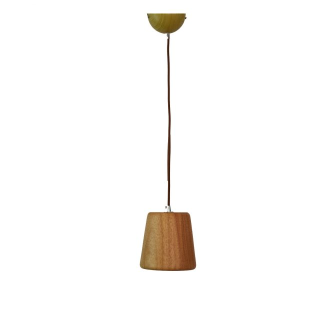 Woody 2 - 140 Wooden Pendant Light - P1122WOODY2