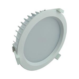 LED Round Shop Light 35w Dimm Warm White - LEDSHP35WWWDIMRND