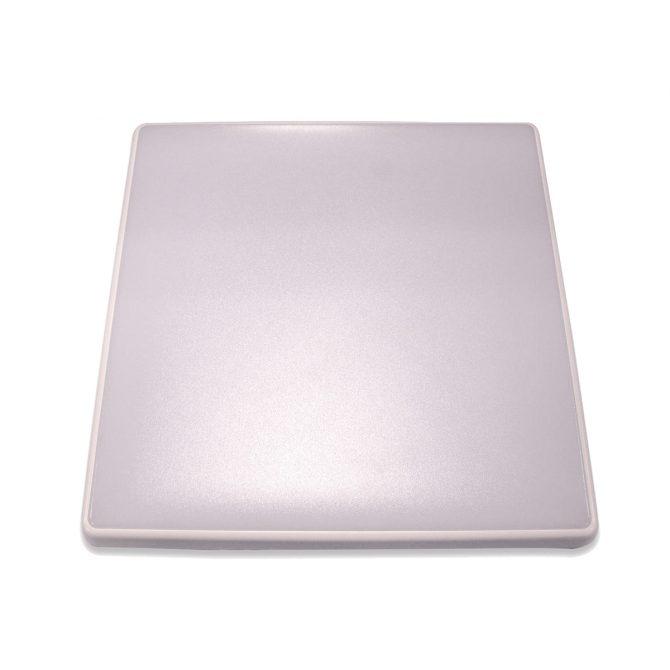 Square 18W LED Ceiling Light - White Frame in Cool White - LEDOYS18WSQRWHCW