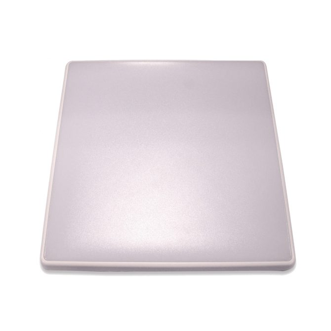 Square 28W LED Ceiling Light - White Frame in Warm White - LEDOYS28WSQRWHWW