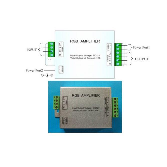 RGB LED Strip Amplifier - RGBLEDAMP
